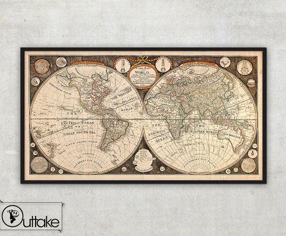 Worksheet. 99 best Dining images on Pinterest  Antique maps Old world maps