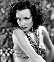 Dolores del Río (August 3, 1905 – April 11, 1983) was a Mexican film actress. She was a star of Hollywood films during the silent era and in the Golden Age of Hollywood. She later became a prominent actress in Mexican films. She was considered one of the most beautiful actresses of her time and was the first Latin American movie star to have international success.    In the silent film era, del Río was considered a female counterpart to Rudolph Valentino.
