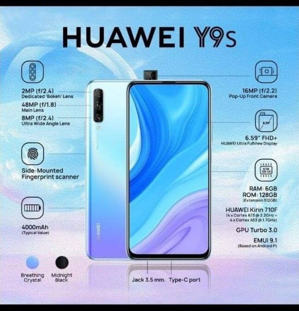 Huawei Y9s Review Price Performance Camera Battery Huawei Smartphone Gadget Ram Card
