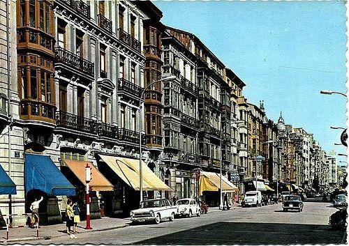 Calle de Uría años 60