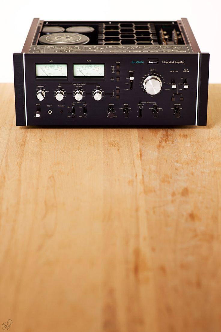 """""""Sansui - AU-20000 ,Vintage Audiophile High End Amplifier"""" !...  http://about.me/Samissomar"""