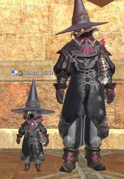 Final Fantasy Xiv Black Mage Costume Version 01 Final