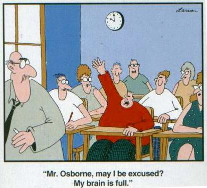 One of my all time favorites from the Far Side by Gary Larsen