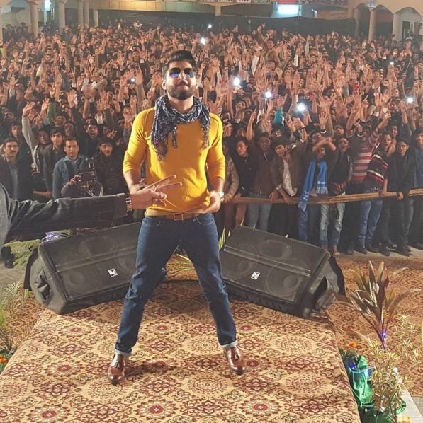 Bilal saeed at recent concert