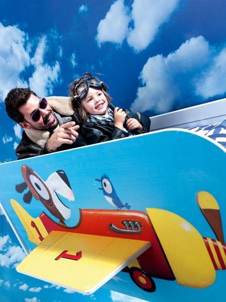 BADROOM - letto per bambini a forma di aereo