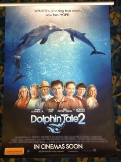 Dolphin Tale 2  The team of people who saved Winter's life reassemble in the wake of her surrogate mother's passing in order to find her a companion so she can remain at the Clearwater Marine Hospital.Director: Charles Martin Smith     Writers: Charles Martin Smith,  Karen Janszen                   Stars: Morgan Freeman,  Ashley Judd,  Harry Connick Jr.                            Genres:  Drama |  Family  Ocean, Sea, Dolphines, Aquatic, Sealife
