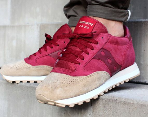 Jazz Up Your Footwear: Saucony Jazz – Sand/Red