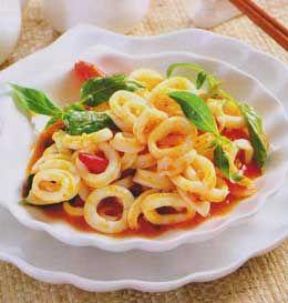 Resep Masakan Cumi Pedas Masak Kemangi - Resep Masakan Cumi Pedas Masak Kemangi ini bisa menjadi menu makan malam anda yang special. Apalagi untuk anda pencinta seafood salah satunya seafood cumi.