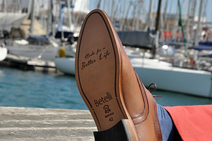 Made for a Better Life. Genuine leather sole in #Betelli height increasing #men's #shoes.