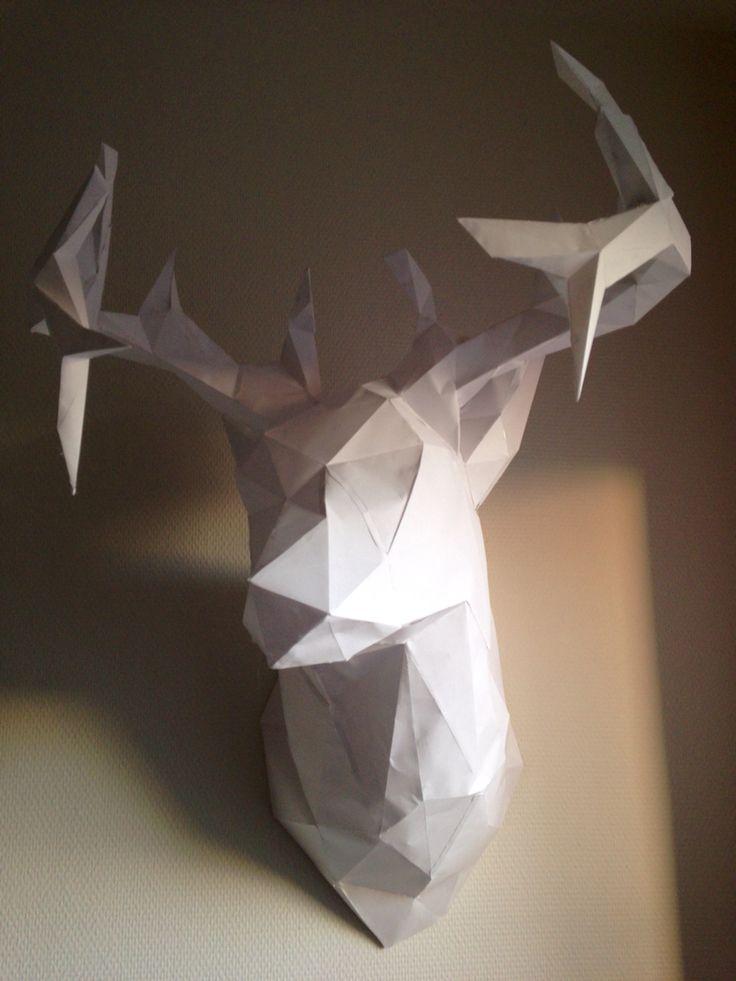 Paper deer