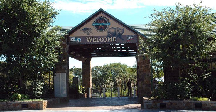 Oklahoma Zoo Entrance
