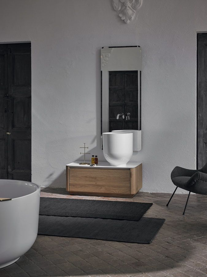 Origin forms strong bonds with eastern culture, which is reflected in its use, its proportions and its designer: Seung-Yong Song …its origin… #bathroom #design #furniture #washbasin #bathtub #interiordesign #home #decor #inspiration #contemporary