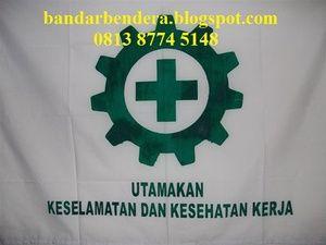 Bendera Safety K3 standar disnaker