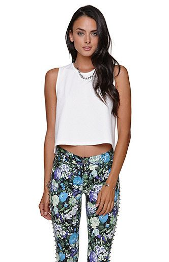 $30 Nollie Center Stage Cropped Tank at PacSun.com
