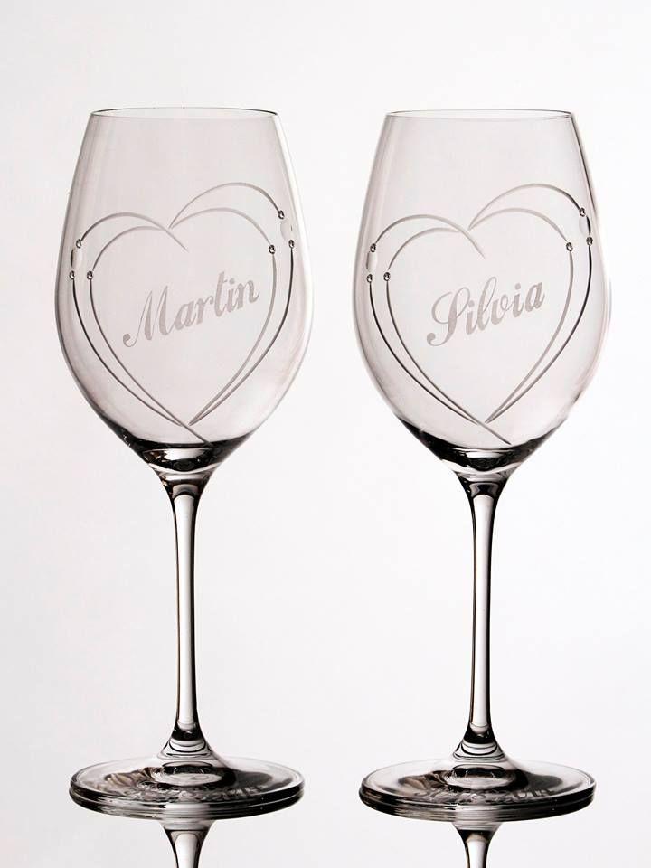 svadobné poháre www.crystal4europe.eu