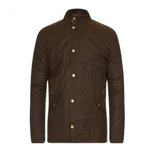 Barbour Prestbury Mens Waxed Jacket - £199.00 www.countryhouseoutdoor.co.uk - Based on Barbour's popular Powell jacket, the Prestbury is a mediumweight men's wax jacket that's built for life outdoors.Smart and functional, this winter-ready jacket is crafted with a 6oz Sylkoil waxed cotton outer and a warm quilted lining, offering robust protection from the elements with a traditional Barbour look.