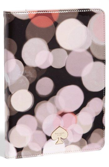 kate spade new york 'festive bubbles' iPad mini folio available at #Nordstrom- LOVE!!