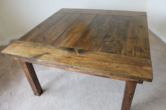 135 best images about 2x4 furniture on pinterest home for Dining room table 2x4