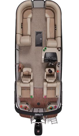 Lowe Pontoons : Platinum 25 RFL | Best Pontoon Boats | Pontoon Boats for Sale : 2013