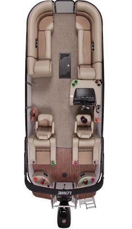 Lowe Pontoons : Platinum 25 RFL | Best Pontoon Boats | Pontoon Boats for Sale : 2013