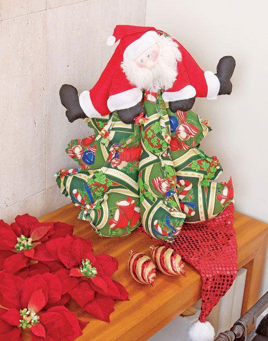 Árvore de Patchwork / DIY, Craft, Upcycle