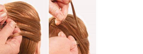 Technique Braiding: Annerose Cutivel's classic hair ring: imSalon Verlags GmbH