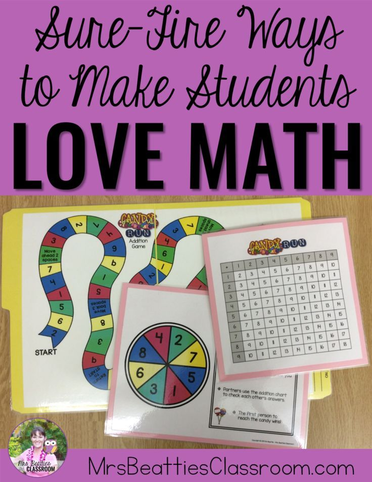"From hands-on tasks with manipulatives and ""scooting"" around the classroom to math games and task cards, this post is full of sure-fire ways to make your primary students love math!"