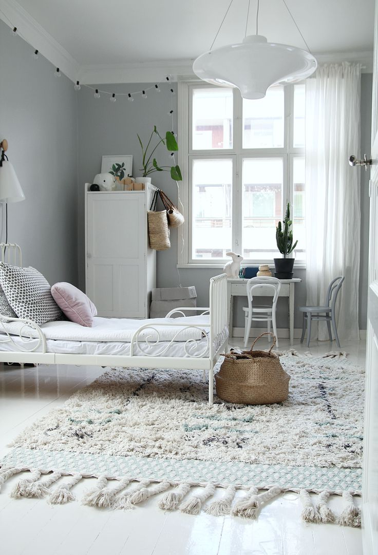 31 Dreamy And Soft Scandinavian Kids Rooms Decor Ideas