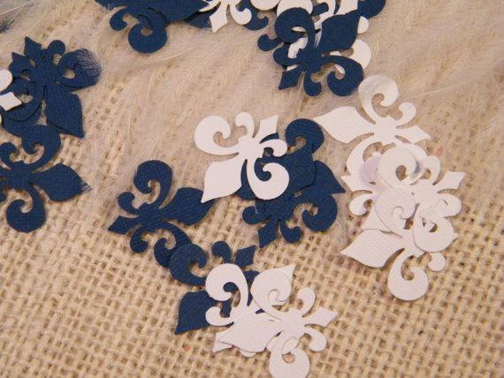 Fleur de lis Confetti 150 Pieces You Pick the by MorrellDecor, $3.95