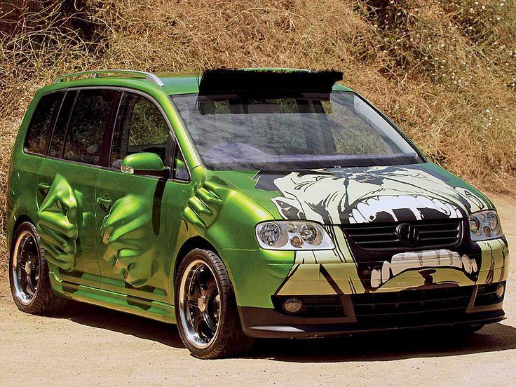 El Volkswagen Touran, entre los coches más feos de Fast & Furious #blog | #coches #cars #CarsOfPinterest #FastAndFurious #Furious7
