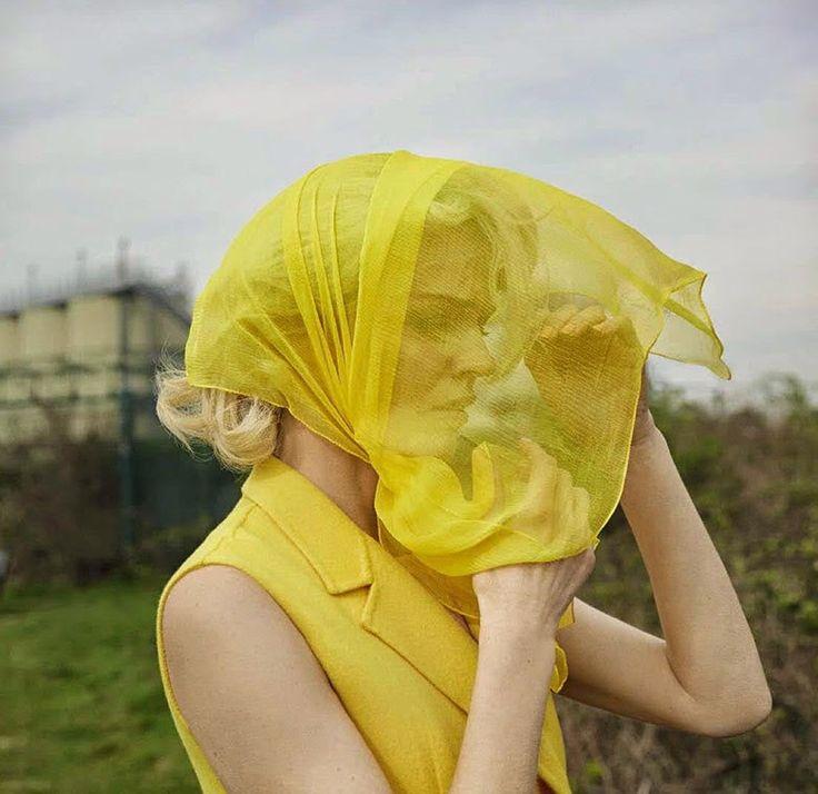 ... Stupefaction ...: Shot by: Yelena Yemchuck. Eva Herzigova for Vogue Italia August 2014.