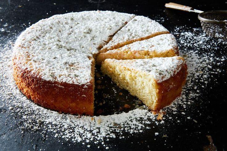 Diana Henry's Lemon & Lavender Cake recipe on Food52