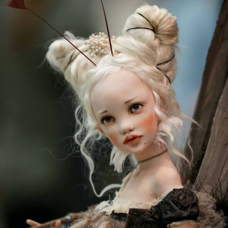 Artist art doll by  Alisa Filippova