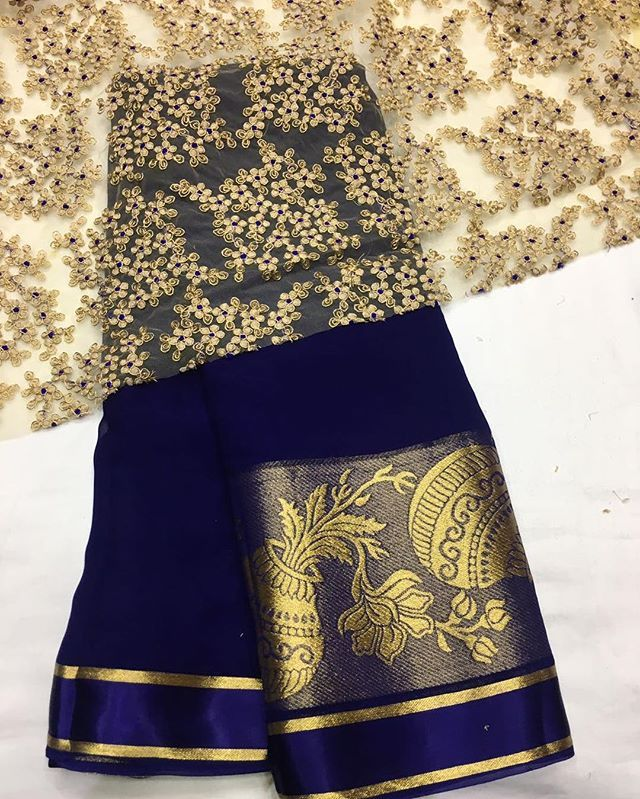 Blue georgette Saree with heavy Emboridery blouse To purchase this product mail us at houseof2@live.com  or whatsapp us on +919833411702 for further detail #sari #saree #sarees #sareeday #sareelove #sequin #silver #traditional #ThePhotoDiary #traditionalwear #india #indian #instagood #indianwear #indooutfits #lacenet #fashion #fashion #fashionblogger #print #houseof2 #indianbride #indianwedding #indianfashion #bride #indianfashionblogger #indianstyle #indianfashion #banarasi #banarasisaree