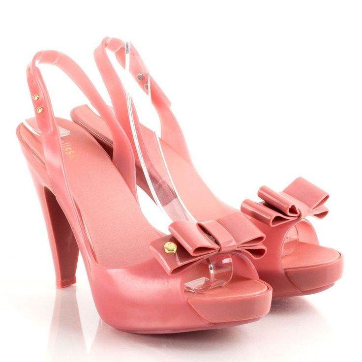 buy the Melissa Pink Sky Women's Peep Toe Shoe online now from daniel  footwear, browse our wide range of womens melissa shoes now