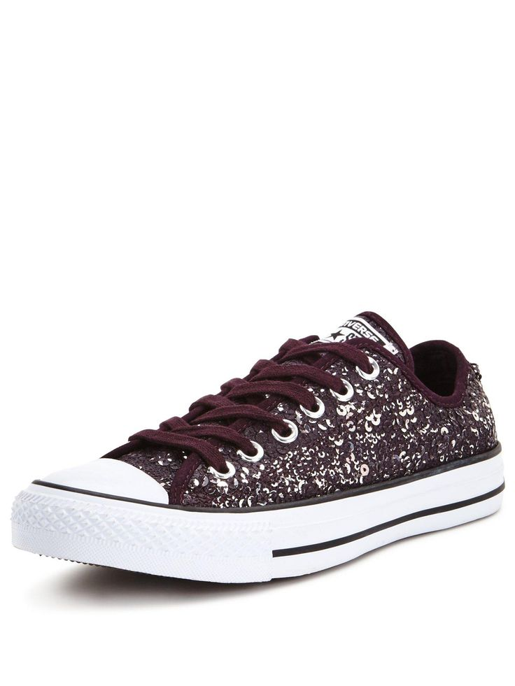 Converse Distressed Sequin  Chuck Taylor All Star