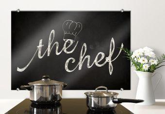 Pannello paraschizzi - The chef