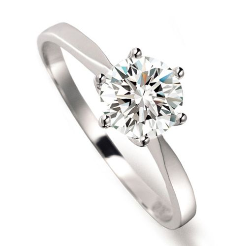Tiffany Outlet Silver Diamond Ring