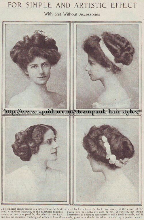 edwardian hairstyles                                                                                                                                                                                 More