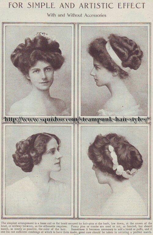edwardian hairstyles                                                                                                                                                                                 More