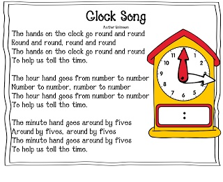 Clock Song (from First Grade Wow)