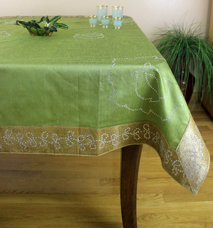 Exceptional Elegant Velvet Sparkle Rectangular #tablecloth. Ideal For Holidays And  Events Table Top Decorations. Good Ideas