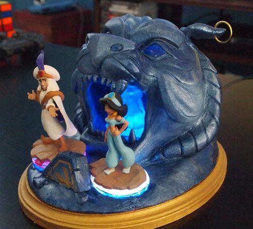 Disney Infinity custom base - Cave of Wonders from Aladdin