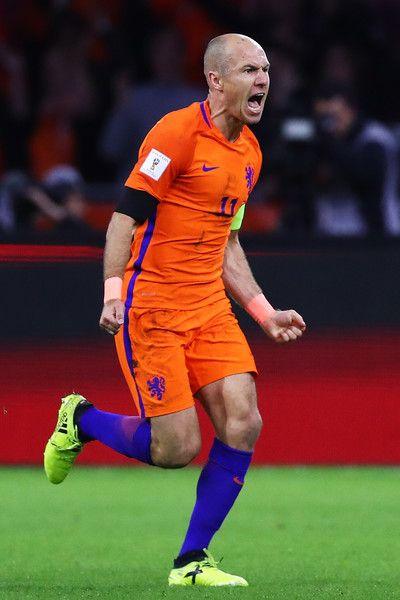 Arjen Robben Photos Photos Netherlands V Sweden Fifa 2018 World Cup Qualifier Fifa Football Fifa World Cup Qualifiers
