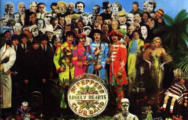 The Beatles Sgt Peppers Portrait Music Poster 11x17 – BananaRoad