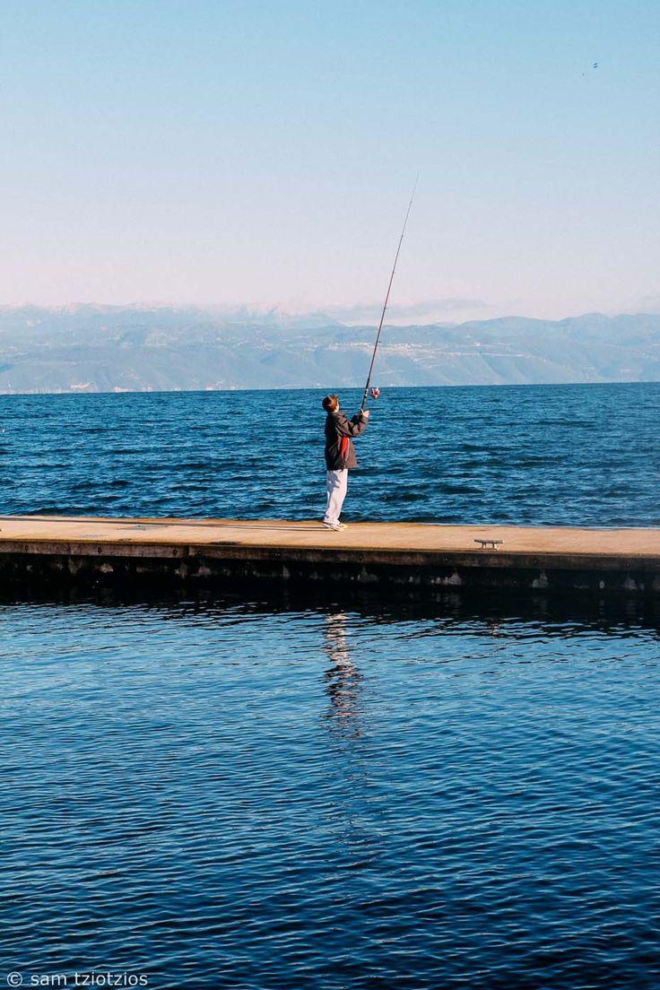 Boy fishing, Panaitolio.
