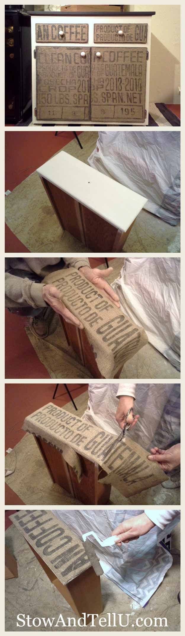 Burlap Sacks | 15 Burlap Sack Uses (Not Just a Bag of Potatoes) | DIY Craft Projects To Home Decor by Pioneer Settler at http://pioneersettler.com/15-burlap-sack-uses/