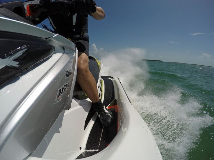 Sea Doo RXT X 300: Increased Pressure From Feet And Knees Lets The
