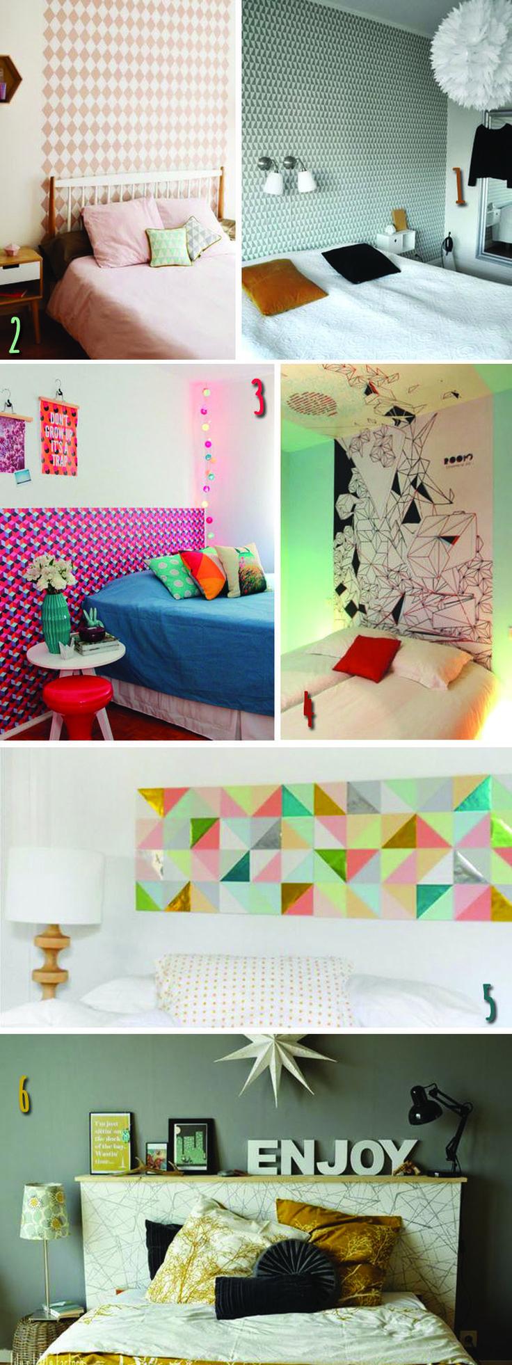 explore papier peint pour tCAAte de lit