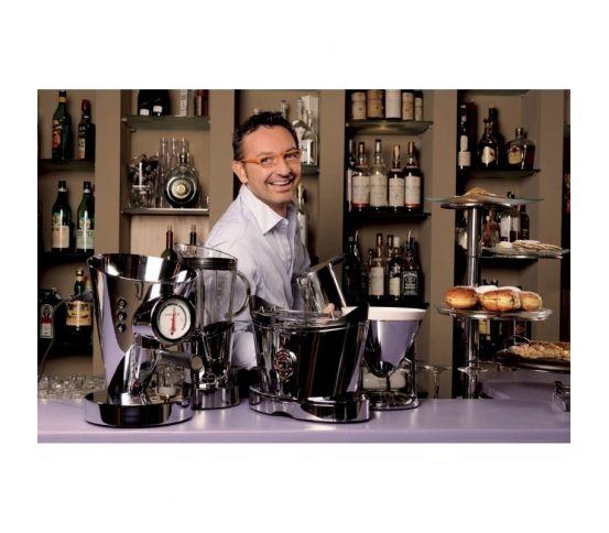 Casa Bugatti Diva - Ekspres ciśnieniowy do kawy, chromowany